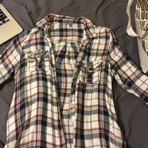 Plaid lumberjack shirt